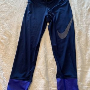 WORN ONCE Nike Workout Capri Leggings